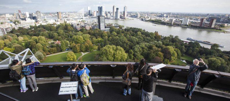 uitzicht vanaf euromast