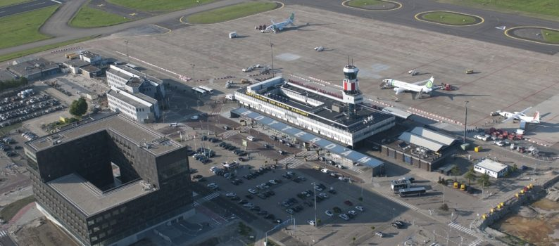luchtfoto rotterdam the hague airport