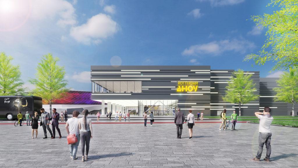 impressie nieuw congrescentrum rotterdam ahoy