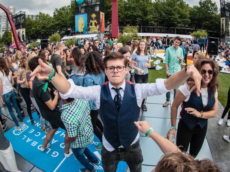 sustainable dancefloor erasmus universiteit rotterdam