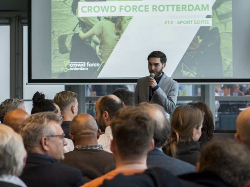 rotterdam partners showcase rdamse nieuwe crowd force blue city