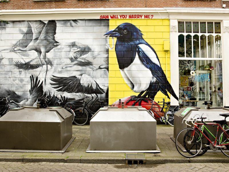 streetart straatkunst muurschildering sam will you marry me tymon melikepainting 2 fotograaf iris van den broek