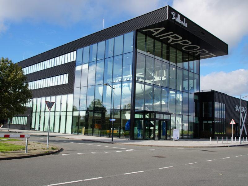 Albeda, Lutonbaan op Rotterdam The Hague Airport