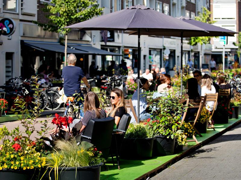 Terras Hoogstraat Rotterdam