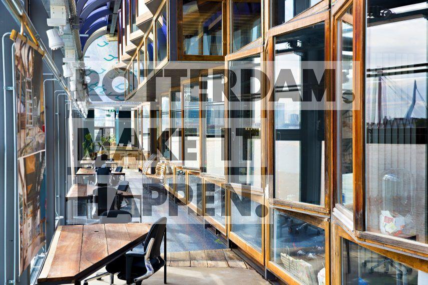 Blue City, is een speeltuin voor circulaire bedrijven gevestigd in het voormalige Zwembad Tropicana pand. ,,,,