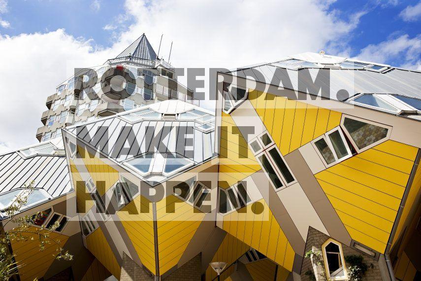 De Kubuswoningen & Het Potlood ontworpen door Piet Blom.