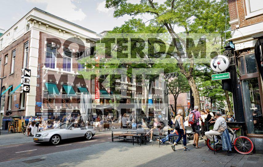 De Witte de Withstraat in Rotterdam