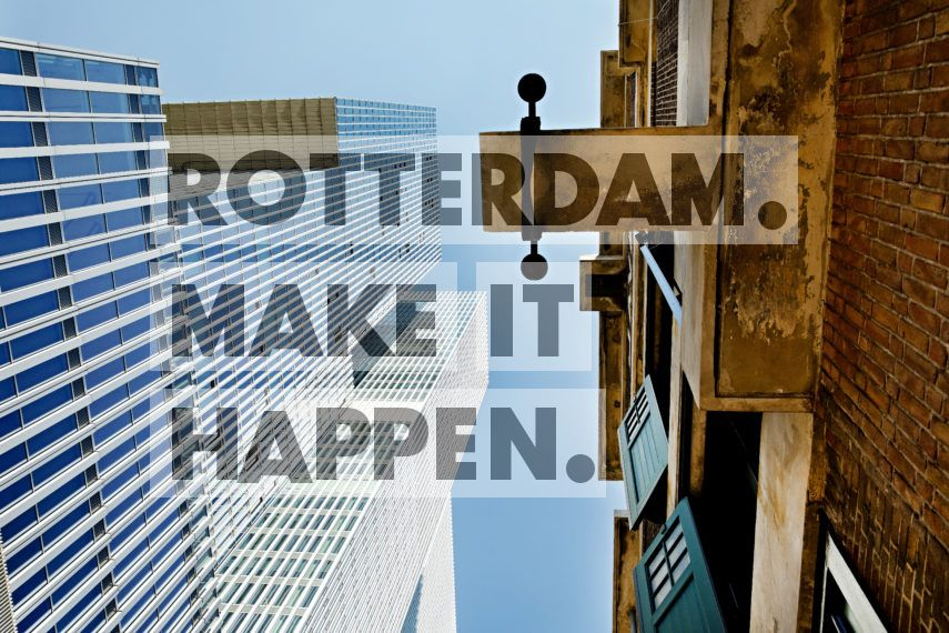 De Rotterdam en hotel Room Mate Bruno.