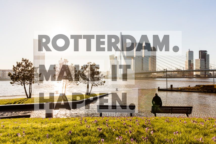 Lente in Rotterdam.