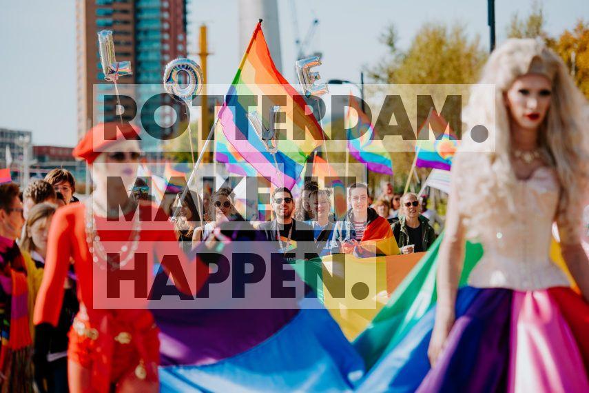 Centrum: Rotterdam Pride Parade.