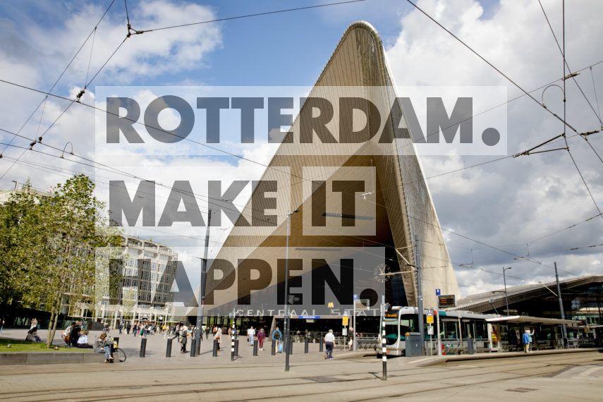 Rotterdam Centraal Station.