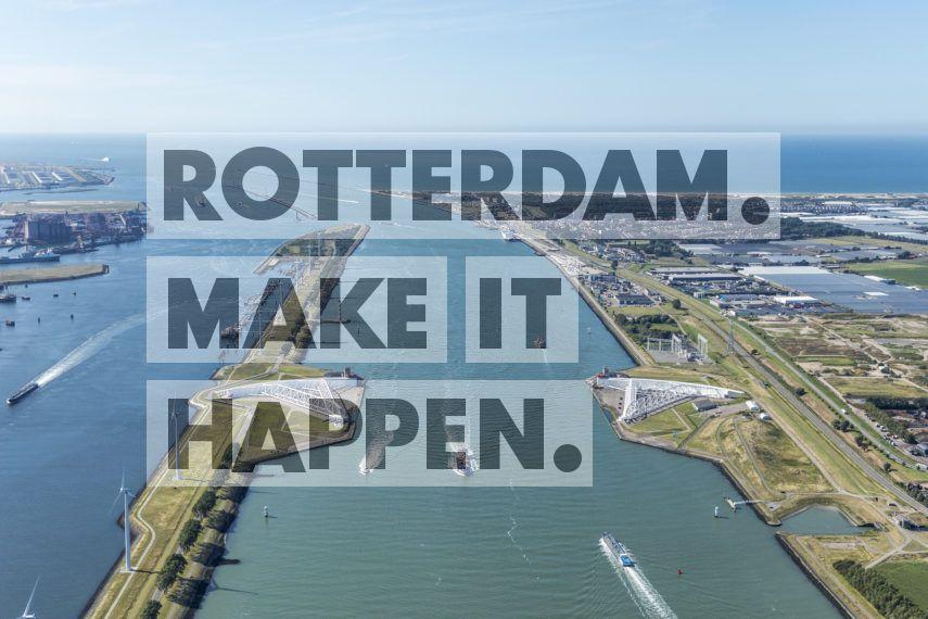 Rozenburg: De Nieuwe Waterweg.
