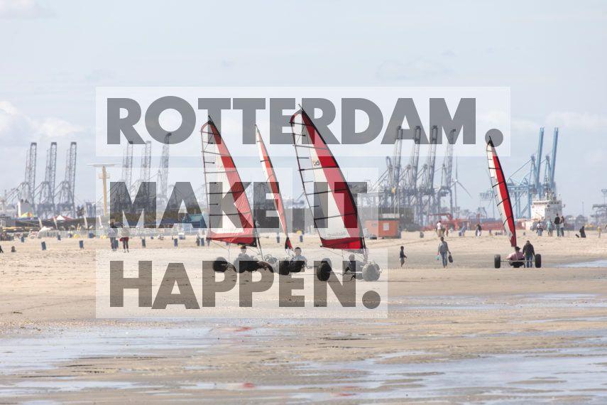 Hoek van Holland: Blokarten in Hoek van Holland.