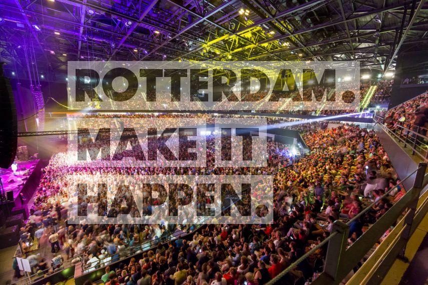Evenement in de Rotterdam Ahoy arena.