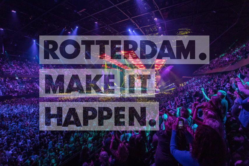 Evenement in Rotterdam Ahoy.