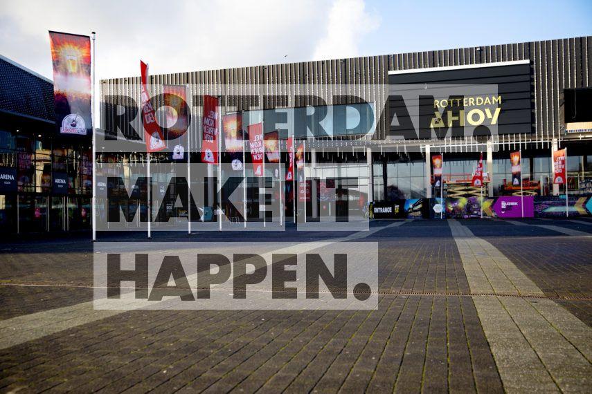 Rotterdam Ahoy Veraf.