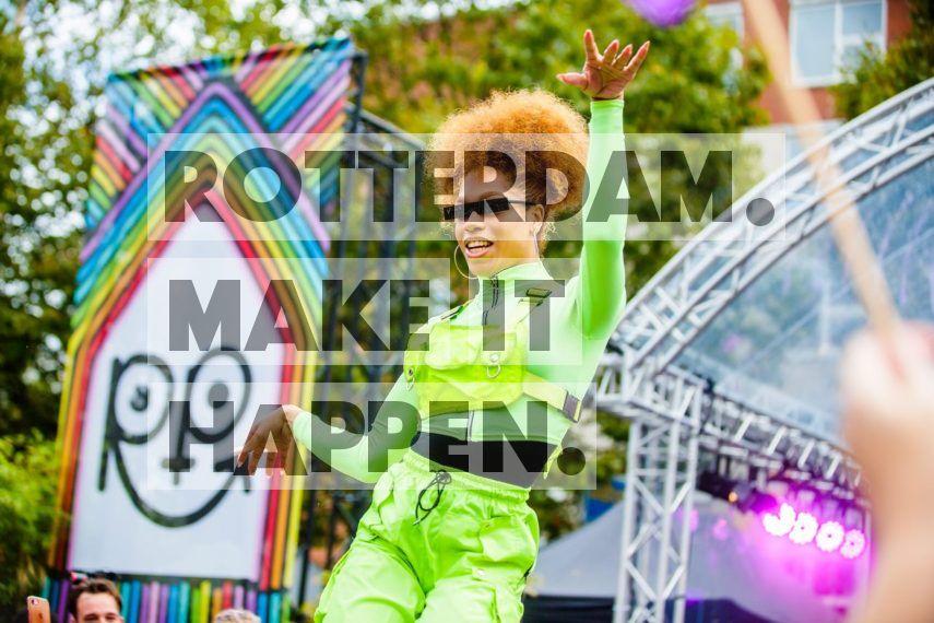 Act during Rotterdam Pride.
