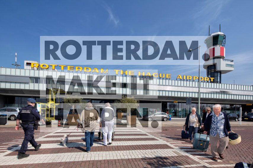 Overschie: Rotterdam The Hague Airport.